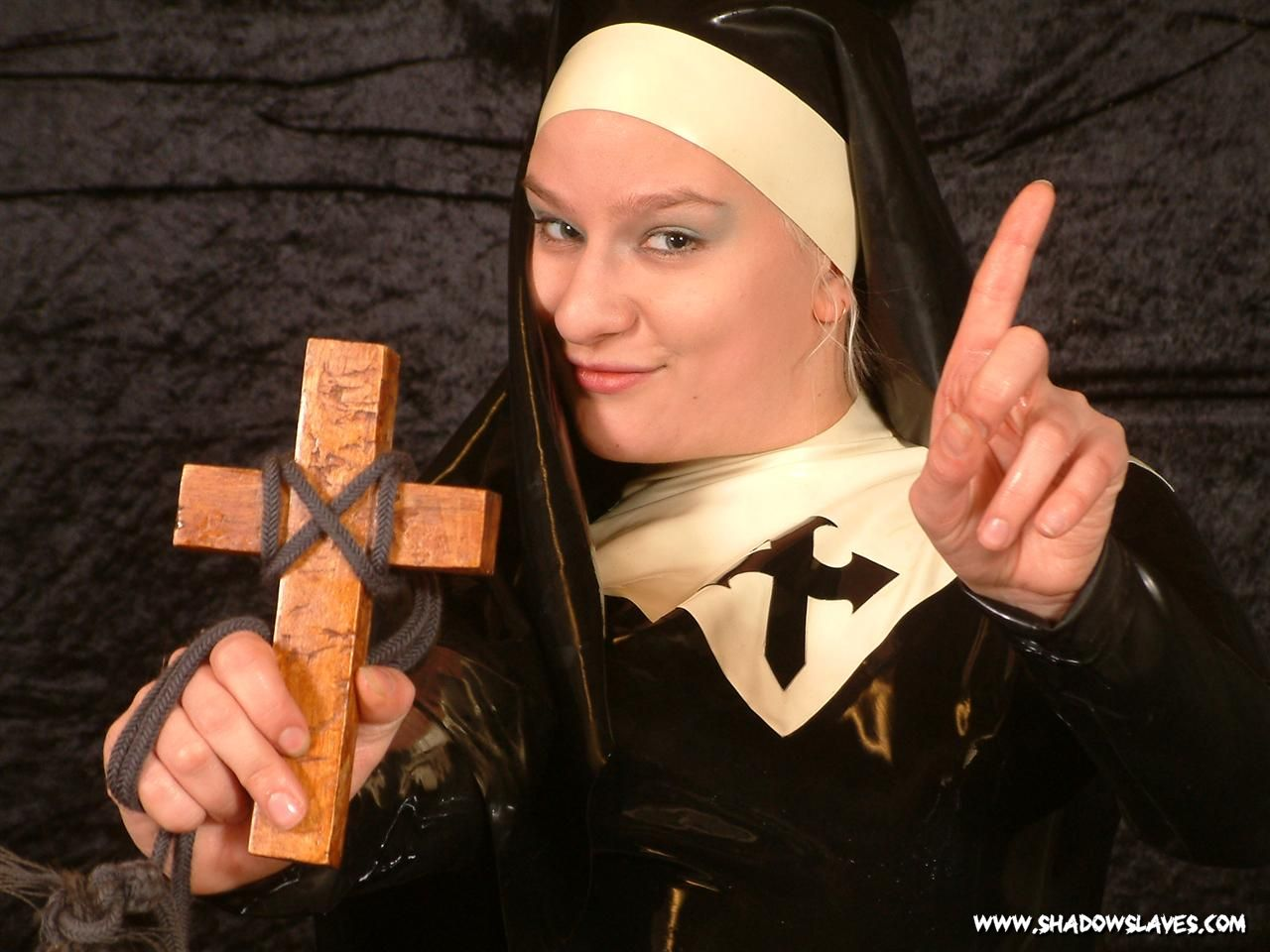 Sexy Latex Nun
